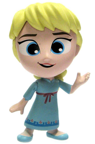 Funko Disney Frozen Mystery Minis Young Elsa 2-Inch 1/12 Mystery Minifigure [Hands Out Loose]