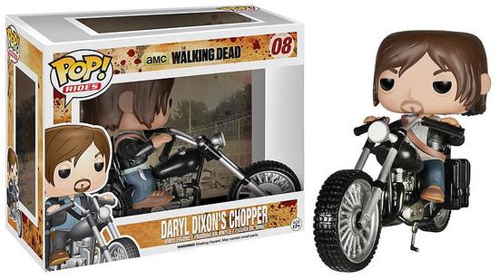 Funko The Walking Dead POP! TV Daryl Dixon's Chopper Vinyl Figure #08