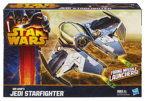 Star Wars Revenge of the Sith Class II Attack Vehicle Obi-Wan's Jedi Starfighter