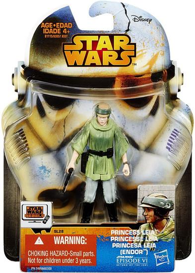Star Wars Return of the Jedi 2015 Saga Legends Princess Leia Action Figure SL28 [Endor]