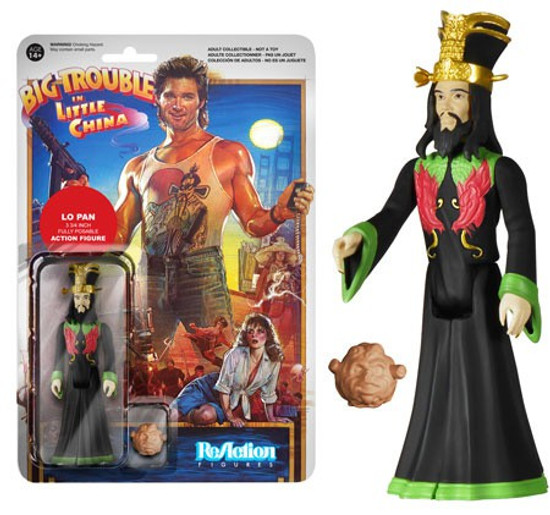 Funko Big Trouble in Little China ReAction Lo Pan Action Figure