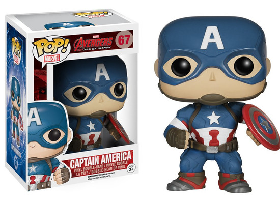 Funko Avengers Age of Ultron POP! Marvel Captain America Vinyl Figure #67