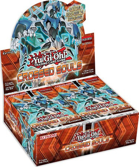 YuGiOh Trading Card Game Crossed Souls Booster Box [24 Packs]
