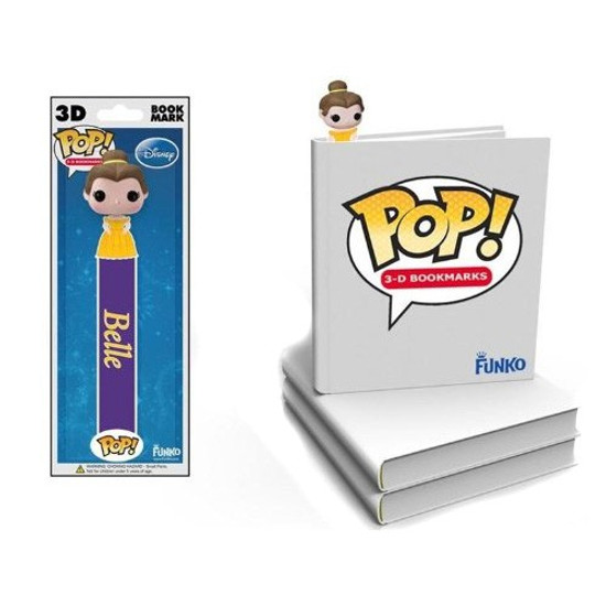 Funko Disney Princess Beauty and the Beast POP! 3-D Bookmarks Belle Bookmark