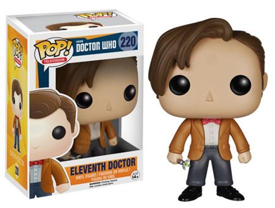 Funko Doctor Who POP! TV Eleventh Doctor Vinyl Figure #220