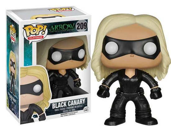 Funko DC Arrow POP! Heroes Black Canary Vinyl Figure #209