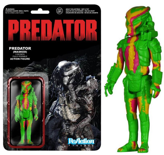 Funko ReAction Predator Exclusive Action Figure [Heat Vision Exclusive]
