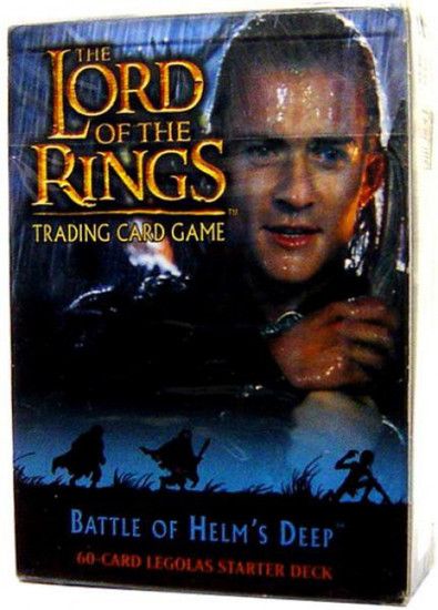 The Lord of the Rings Trading Card Game Battle of Helm's Deep Legolas Starter Deck