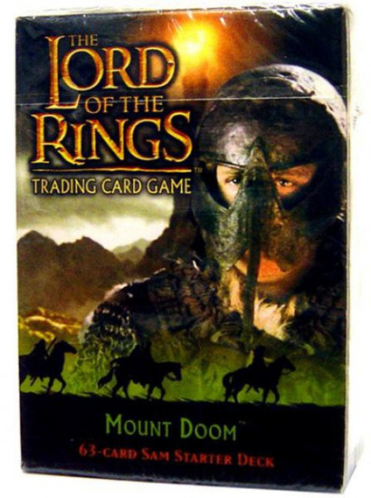 The Lord of the Rings Trading Card Game Mount Doom Sam Starter Deck