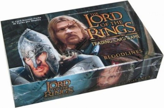 The Lord of the Rings Trading Card Game Bloodlines Booster Box [36 Packs]