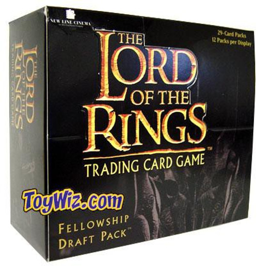 The Lord of the Rings Trading Card Game Fellowship Draft Pack Booster Box [12 Packs]