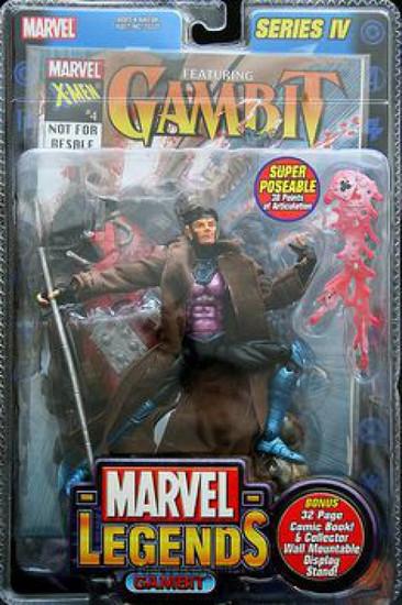 Marvel Legends Series 4 Gambit Action Figure