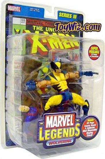 Marvel Legends Series 3 Wolverine Action Figure