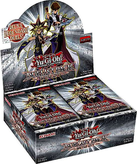 YuGiOh Trading Card Game Battle City Duelist Pack Booster Box [36 Packs]