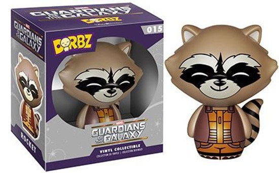 Funko Marvel Guardians of the Galaxy Dorbz Rocket Raccoon Vinyl Figure #015 [Brown Suit]
