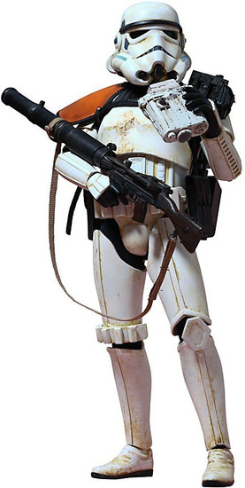 Star Wars A New Hope Movie Masterpiece Sandtrooper Collectible Figure