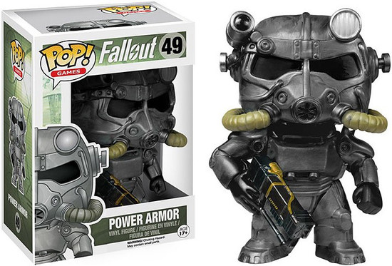 Funko Fallout POP! Games Power Armor Vinyl Figure #49 [Brotherhood of Steel]
