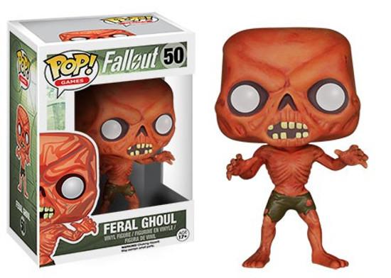 Funko Fallout POP! Games Feral Ghoul Vinyl Figure #50