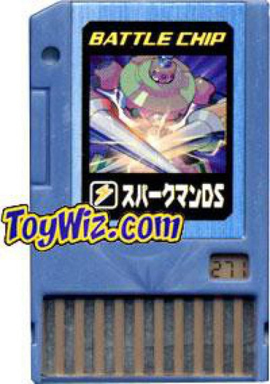 Capcom Mega Man Japanese PET SparkMan DS Battle Chip #271