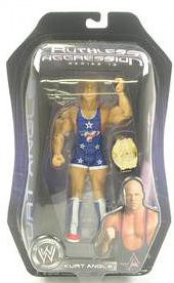 WWE Wrestling Ruthless Aggression Series 19 Kurt Angle Action Figure