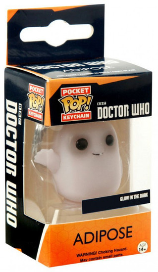 Funko Doctor Who Pocket POP! TV Adipose Exclusive Keychain [Glow In The Dark]