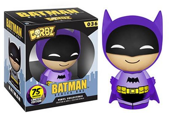 Funko DC 75th Colorways Dorbz Batman LE Vinyl Figure #36 [Purple Suit]