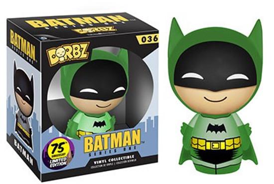 Funko DC 75th Colorways Dorbz Batman LE Vinyl Figure #36 [Green Suit]