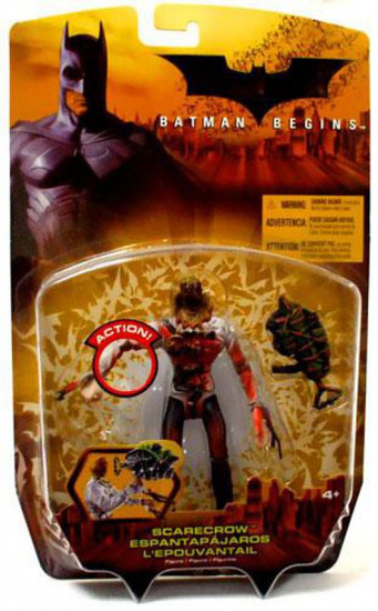 Batman Begins Scarecrow Action Figure [With Blood]