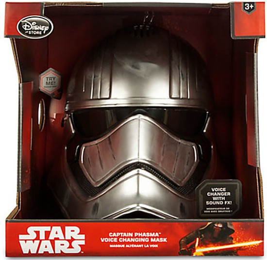 Star Wars The Force Awakens Captain Phasma Exclusive Voice Changing Mask