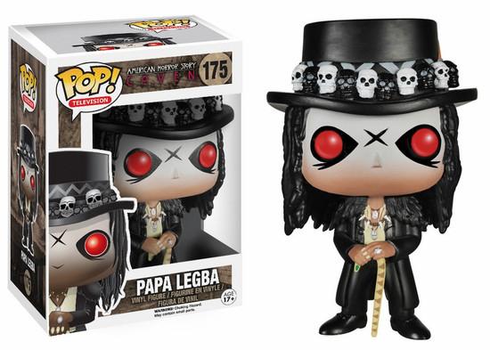 Funko American Horror Story Coven POP! TV Papa Legba Vinyl Figure #175 [Damaged Package, Mint Figures]