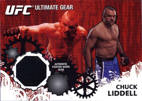 Topps UFC 2010 Championship Ultimate Gear Relic Chuck Liddell UG-CL