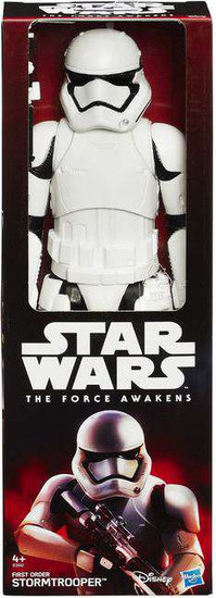 Star Wars The Force Awakens Hero Series First Order Stormtrooper Action Figure