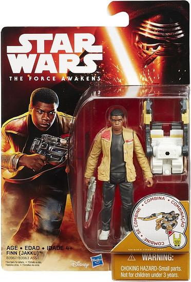 Star Wars The Force Awakens Snow & Desert Finn Action Figure [Desert Mission]