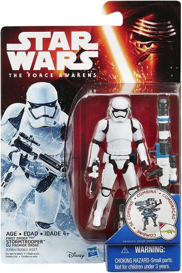 Star Wars The Force Awakens Snow & Desert First Order Stormtrooper Action Figure [Snow Mission, Blaster]