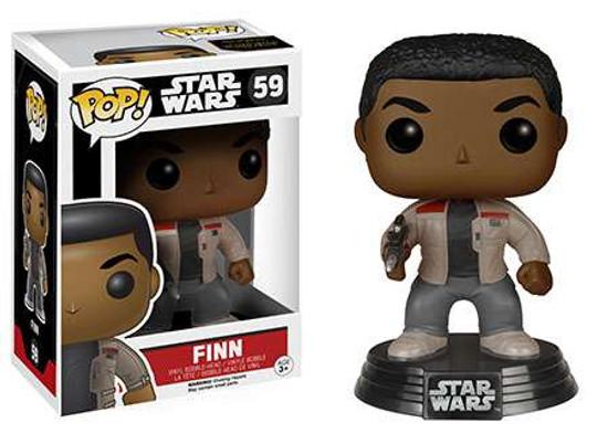 Funko The Force Awakens POP! Star Wars Finn Vinyl Bobble Head #59 [EP7]