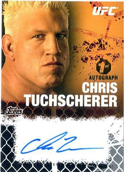 Topps UFC 2010 Championship Autograph Fighters & Personalities Chris Tuchscherer FA-CT