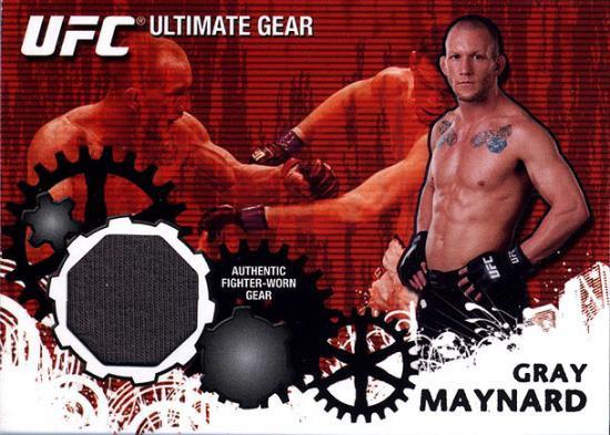 Topps UFC 2010 Championship Ultimate Gear Relic Gray Maynard UG-GM