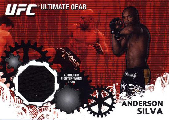 Topps UFC 2010 Championship Ultimate Gear Relic Anderson Silva UG-AS