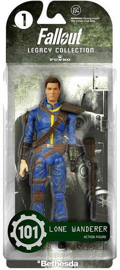 Funko Fallout Legacy Collection Lone Wanderer Action Figure #1