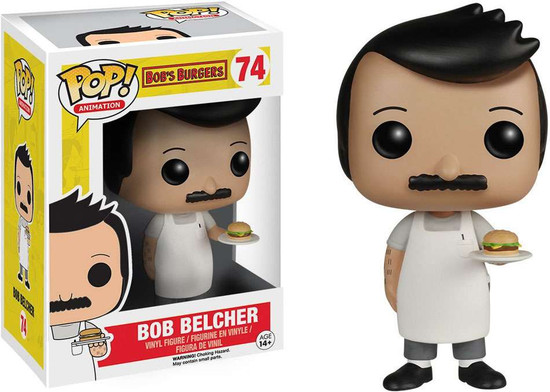 Funko Bob's Burgers POP! Animation Bob Belcher Vinyl Figure #74
