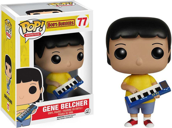 Funko Bob's Burgers POP! Animation Gene Belcher Vinyl Figure #77