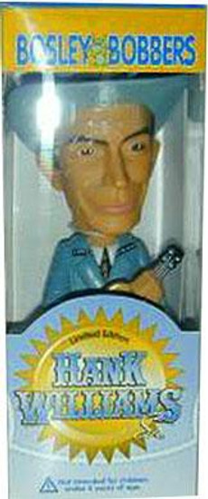Bosley Bobbers Hank Williams Sr Bobble Head