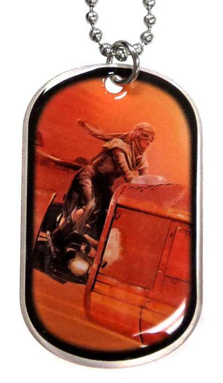 Star Wars The Force Awakens Rey Dog Tag #11 [Loose]
