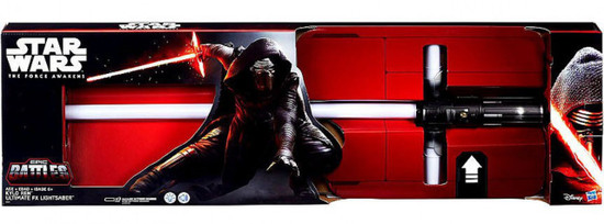 Star Wars The Force Awakens Kylo Ren Exclusive Ultimate Force FX Electronic Lightsaber