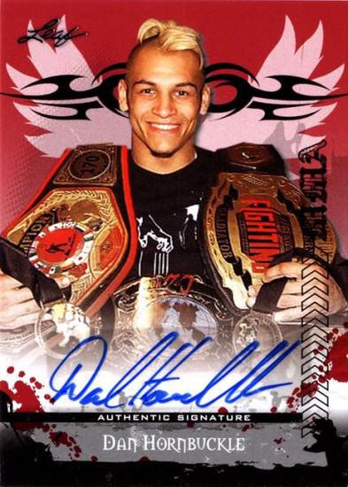 MMA Series 2010 Dan Hornbuckle Autograph Card AV-DH1