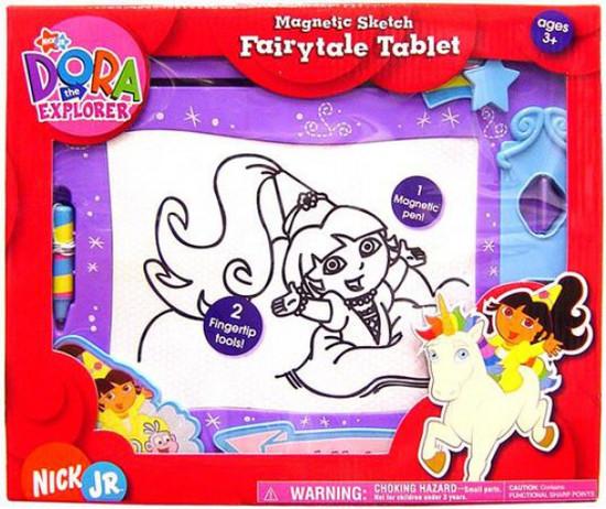 Dora the Explorer Magnetic Sketch Fairytale Tablet