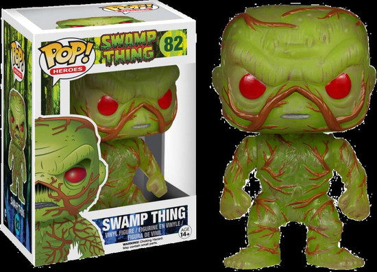 Funko POP! Movies Swamp Thing Exclusive Vinyl Figure #82 [Regular]