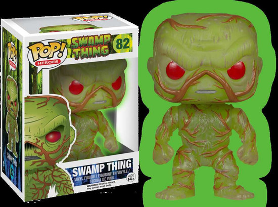 Funko POP! Movies Swamp Thing Exclusive Vinyl Figure #82 [Glow in the Dark]