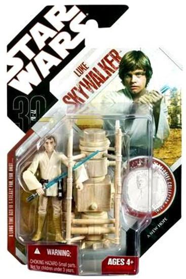 Star Wars A New Hope 30th Anniversary Luke Skywalker Action Figure