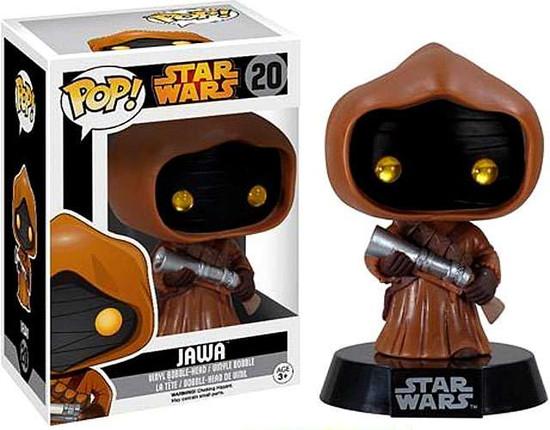 Funko POP! Star Wars Jawa Vinyl Bobble Head #20 [Vaulted Edition]